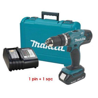 Máy khoan búa chạy pin Makita DHP453SF (18V)